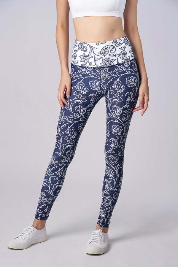 Oomph High Waist Legging – Sarong Kebaya (sold out: backorder, expected delivery early Jun 19)