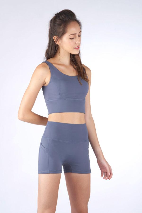 Kanso High Waist Shorts